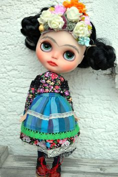Frida kalo una munequita Muy Linda