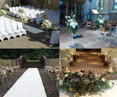 5 Pretty Ways to Style Your Wedding Aisle Wedding Church Aisle, Wedding Aisle Outdoor, Aisle Runner Wedding, Wedding Aisle Decorations, Diy Wedding, Wedding Ceremony, Table Decorations, Event Decor, Lanterns