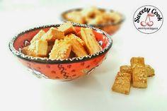Sweety-Cook: Kräcker mit Gouda und Gewürzen