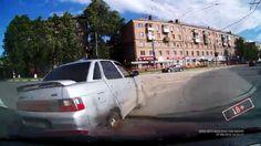 Подборка Аварий и ДТП Июнь 2015 (33) Пропаганда правил дорожного движения.