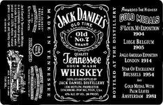 Jack Daniels Gold Medal, Jack Daniels Label, Jack Daniels Whiskey, Receipt Template, Checklist Template, Label Templates, Receipt Organization, Whiskey Label, Tennessee Whiskey