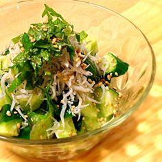 味付けは胡麻油と塩のみです。 - 72件のもぐもぐ - 胡瓜シラス大葉の胡麻サラダ by cmry