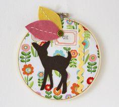 Holiday Shop Preview! - Cottage Industry Shop - Oh Deer Hoop Art