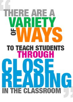 Douglas Fisher describes close reading and it's connection to the Common Core Reading Lessons, Reading Resources, Reading Activities, Reading Skills, Guided Reading, Teaching Reading, Reading Comprehension, Learning, Close Reading Strategies