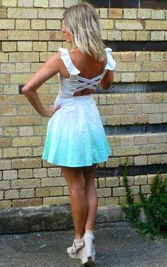 Mint skirt :)