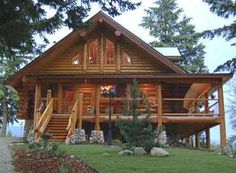 Log Home in the North Georgia Mountains - Sande Peterson
