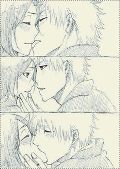Not everyday you see Rukia look so innocent..*gets camera out*