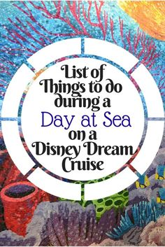 Disney Dream Cruise Tips for Your Day at Sea - Disney Insider Tips