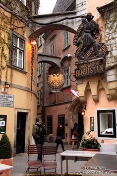 Der liebe Augustin in Wien