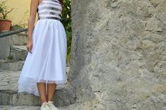 White Tulle Skirt, Polka Dot Tulle Skirt, Women Tulle Skirt, Women Tutu, Flowergirl Tutu, Bridal Tutu Skirt, Wedding Tutu, Prom Party Skirt White Tulle Skirt, Tulle Skirts, Wedding Skirt, Bridal Separates, Party Skirt, Photo Black, Prom Party, Short Skirts, Tutu