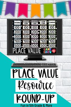Here is a round up of great resources to use to introduce, teach and review place value. Find some great place value charts, games and more to simply your math instruction! Includes ideas for paper resources and digital resources to be used in the classroom and for distance learning! There is also a free download to get you started with teaching place value. #placevalue #upperelementary Math Lesson Plans, Math Lessons, Elementary Math, Upper Elementary, Teaching Place Values, Place Value Chart, Math Websites, Math Facts, Math Classroom