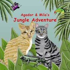 Can cats fly? A creative kid's book with fun illustrations. Learn more about jungle life and friendship. in Paperback, eBook and FREE on Kindle Unlimited. Free Epub, Jungle Life, Flying Cat, Cut Cat, Fun Illustration, Illustrations, Children's Picture Books, Jungle Animals, Creative Kids