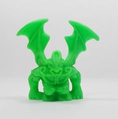 Monster In My Pocket - Series 2 - 72 Gargoyle - Neon Lime - Mini Figure