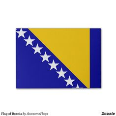 Flag of Bosnia Post-it® Notes