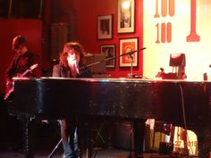 """The first installment of my """"Five Nights in London"""" series is now live. The first evening of live music was a concert at The 100 Club, featuring Bob Malone, with opening acts Loose Moorings and Amy Eftekhari."""