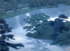 東山魁夷「緑潤う」