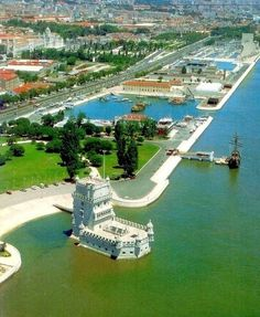 Belem Tower, Lisbon, Portugal.