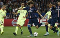 PSG Me David Luiz, pa Motta ndaj Barcelonës