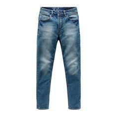 Full Length Solid Skinny Jeans
