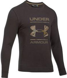 Under Armour Threadborne Camo Fill Crew Sweatshirt