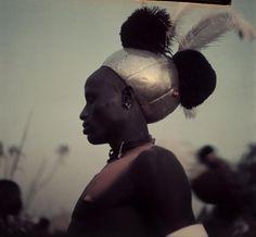 Africa | Sudan. Upper Nile Province. Duk Fadiat. Shilluk tribesman. 1949. | © George Rodger