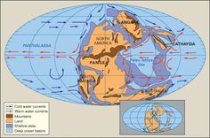 Earth during the early Permian Period