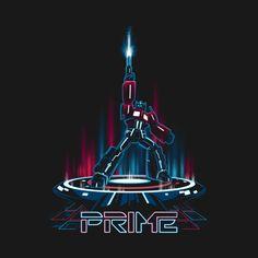 TRON-PRIME T-Shirt - Optimus Prime T-Shirt is $11 today at Ript!