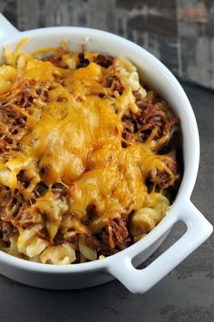 BBQ Pulled Pork Macaroni and Cheese                                                                                                                                                                                 More