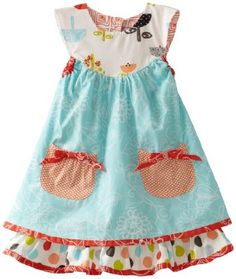 I love this dress...will make one for my little one