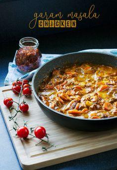 PRZEPISY Chicken Drumstick Recipes, Chicken Recipes, Garam Masala Chicken, Naan, Chicken Drumsticks, Coriander Seeds, Fresh Ginger, Different Recipes, One Pot Meals
