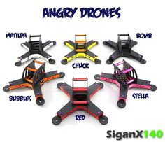 Angry drones are coming soon. Lol. #sigandrone #siganx140 #angrybirds #miniquads #microquad