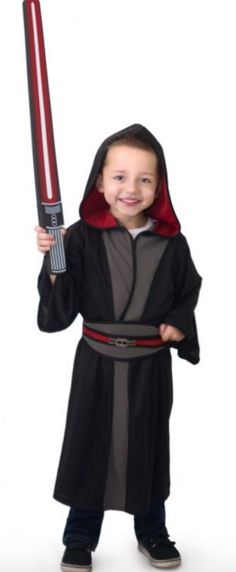 Galactic Villain Size 5-7 Years Kids Star Wars Costumes 026869577