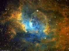 Out of this world! This incredible series of supernovae photographs were shot from a back ...