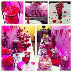"Valentine ""Candy"" Bar hosted by PTO Hospitality Committee for our Teachers and Staff"