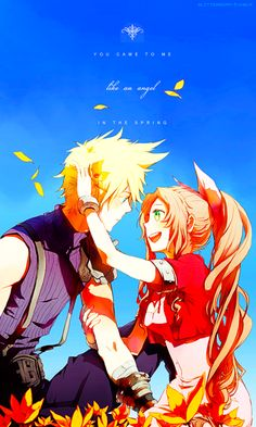 Cloud and Aerith :)
