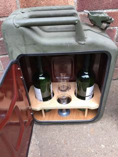 | Upcycled Jerry Can Mini Bar ~ Ebay £99 |