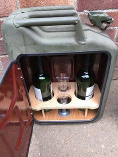 | Upcycled Jerry Can Mini Bar ~ Ebay £99 |