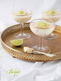 Mousse de Lima • Lime Mousse | Doces do Bosque