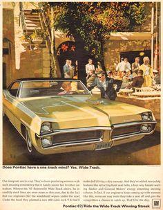 Pontiac Bonneville 1966 Cafe - Mad Men Art: The 1891-1970 Vintage Advertisement Art Collection