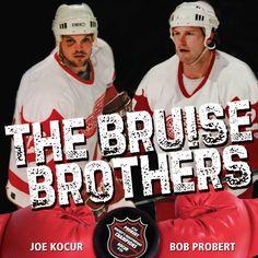 The Bruise Brothers Bob Probert & Joe Kocur