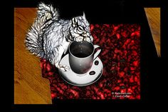 http://www.Rateitart.com    I Covet Coffee. Robbie the Squirrel Art Deco Design. Robbie coveting a cup of coffee..It's the little prayer squirrels love to do over a cup of coffee. I take mine black with a little suger. 6095     � Rateitart.com // All Rights Reserved.   All Artwork, Photography, and Designs are copyrighted.   Do not use my works for commercial purposes.   Do not use my works to create derivative works.     Thank You.   #CoffeeArt #Coffee #Squirrel #ArtDeco #Decor #FineArt