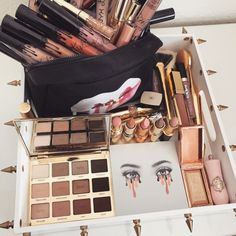 Entdecken Sie diese Make-up-Produkte ad # 2576 - Makeup Products Fenty Kylie Makeup, Makeup Goals, Skin Makeup, Makeup Brushes, Makeup Tips, Beauty Makeup, Makeup Lipstick, Drugstore Makeup, Huda Beauty