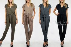 Jumpsuits are a must for this Fall!  Shop our favorite Jumpsuits at http://www.loveriche.com  Style# LD80318