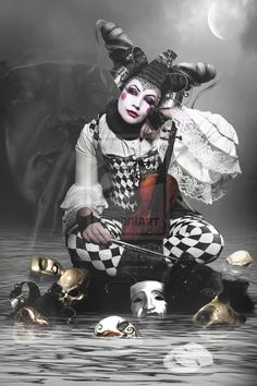 "Harlequin:  #Harlequin ~ ""Multifaceted II,"" by babsartcreations, at deviantART."