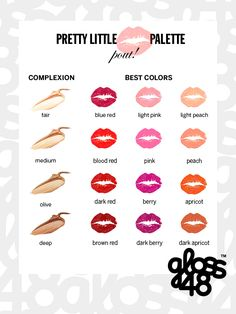 Which lipstick is best on your skin tone? This is spot on for my skin tone