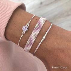 Loom Bracelet Patterns, Bead Loom Bracelets, Beaded Jewelry Patterns, Bracelet Set, Diy Jewelry, Jewelery, Jewelry Making, Jewelry Accessories, Making Bracelets With Beads