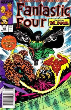 Fantastic Four #318 - To Challenge the Negative Zone!