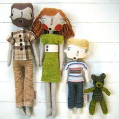 custom family dolls from simpli jessi