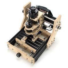 Triaxial Desktop DIY CNC Micro Engraving Machine Assembling Kits