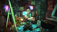 """Shadow Chalk""  3DCG animation"